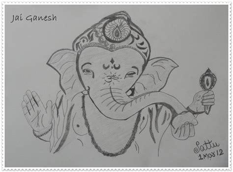 Ganesh Ji Sketches by Pencil Sketch Of Ganesh Ji Desipainters