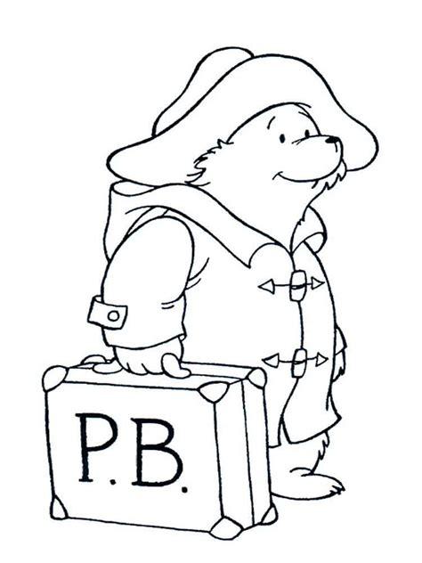 coloring pages free com paddington bear coloring pages free printable paddington
