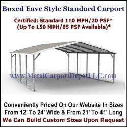 Metal Carport Sizes Buy Metal Carports Metal Garages Metal Carport Depot