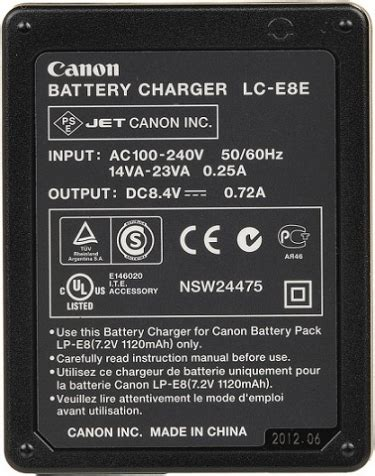 canon lc e8e battery charger £36 london