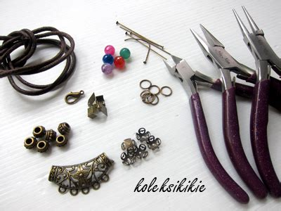 Kalung Etnik Bola tutorial membuat kalung etnik koleksikikie