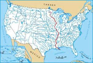 maps of the united states major rivers