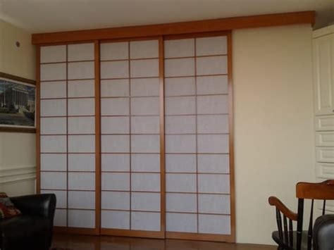 Sliding Room Dividers by Sliding Room Divider Shoji Screens Shown Closed Yelp