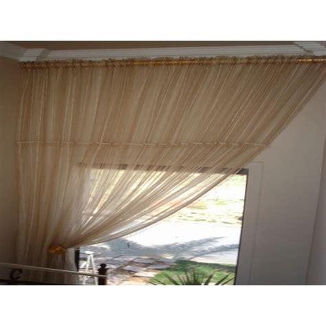 how to drape voile over a curtain pole how to drape a sheer curtain over a rod 28 images