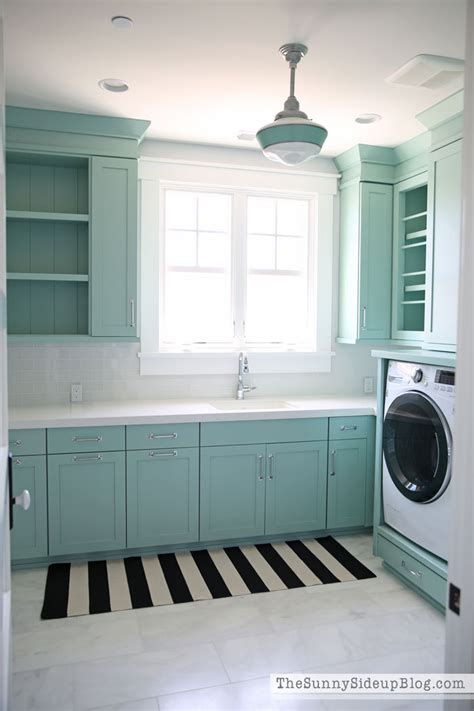 decorated laundry rooms decorated and organized laundry room with color the