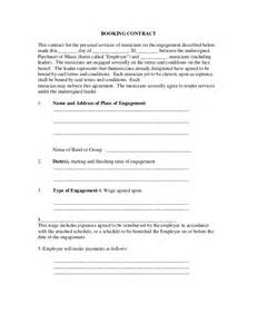 Booking Contract