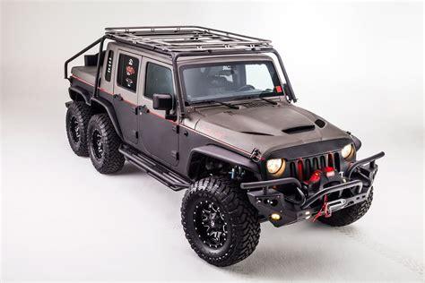 jeep hellcat 6x6 hellcat jeep jk wrangler offroad custom truck gog suv