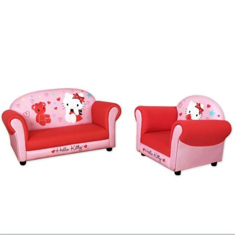 hello kitty couches comparamus hello kitty sofa and armchair set