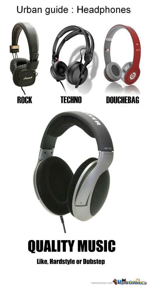 Headphones Meme - rmx headphone guide by daemiax meme center