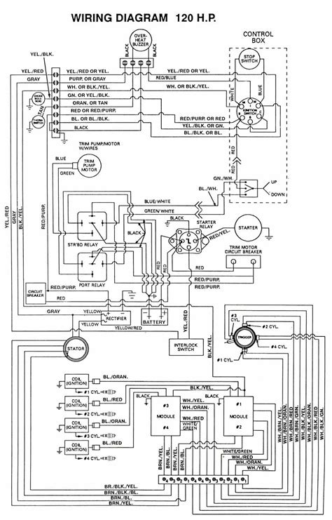 wiring diagram for 1975 mercury 1150 outboard mercury 650