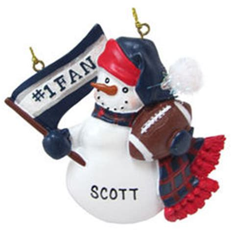 new england patriots football fan personalized christmas