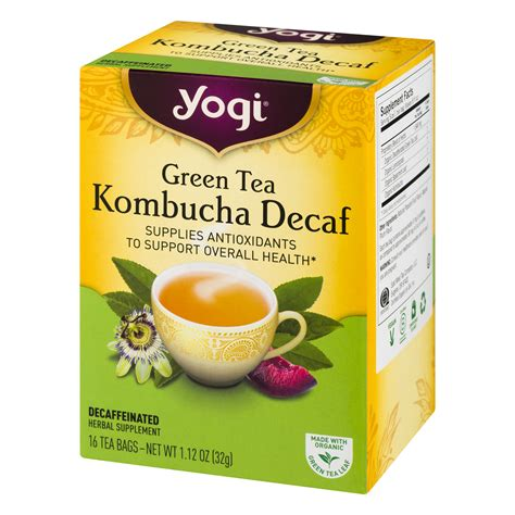 Yogi Skin Detox Tea Side Effects by Yogi Green Tea Kombucha Nutrition Facts Besto