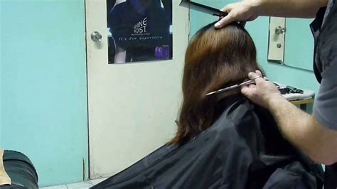 jumbo play with your hair cut on the side hair clippers and shears bob cut youtube