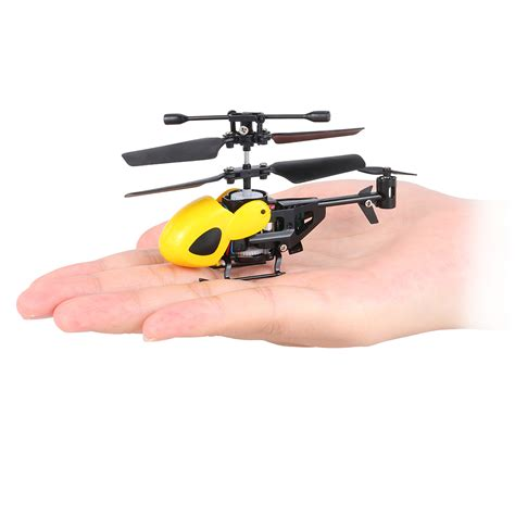 Drone Rm yellow qs qs5012 2ch micro infrared helicopter rc drone