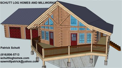 Cabin Plans With Garage by Log Garage With Apartment Plans Log Cabin Garage Apartment
