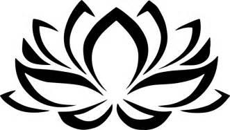 Lotus Flower Silhouette Clipart Lotus Flower
