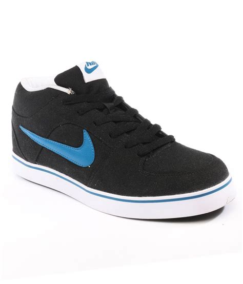 nike black liteforce mid casual shoes price in india buy