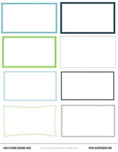school lunch card template blank flash card templates printable flash cards pdf