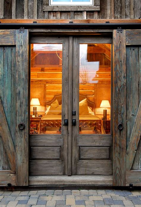 Barn Doors With Windows Ideas Sliding Barn Door Ideas To Get The Fixer Look