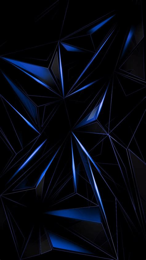 wallpaper scrivania blue geometric abstract wallpaper android iphone