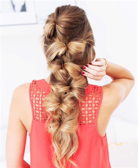 braided hairstyles bow how to make a bohemian bow braid project fairytale