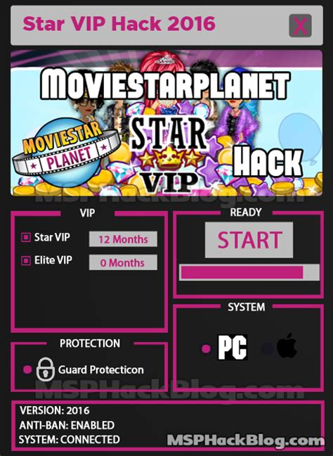 moviestarplanet hack how to cheat msp zefile blog