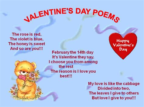 poems for valentines day for him valentines day poem for friends jinni