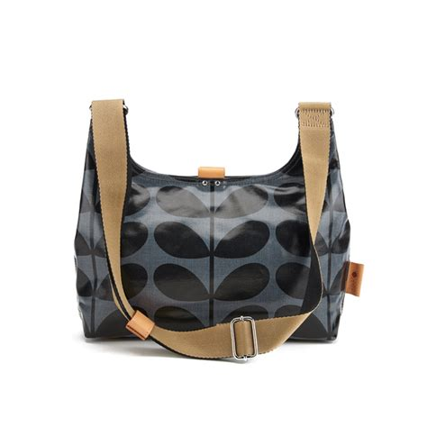 Fashion Sling Bag Mini Bag 311 orla kiely s linear stem print laminated mini sling bag midnight