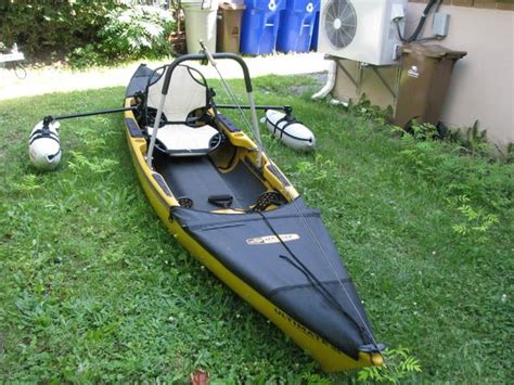 party boat fishing gear cool native ultimate kayak w outriggers and leaning post