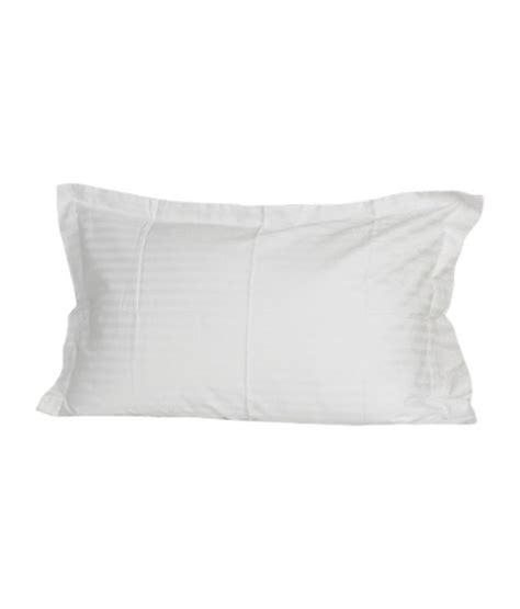 White Pillow Cover by Bombay Dyeing White Pillow Covers Set Of 2 Pcs Buy