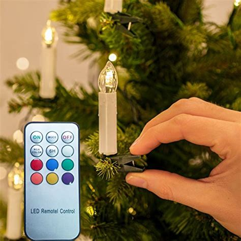 flickering cheap christmas tree candle lights top 17 best color changing led candles 2018