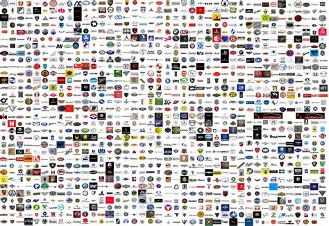 car brand collection of 1260 car manufacturers logos car logos