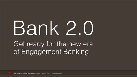 bank eröffnen bank 2 0 how to get ready for the new era of engagement