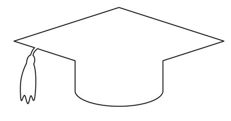 graduation cap pattern use the printable outline for