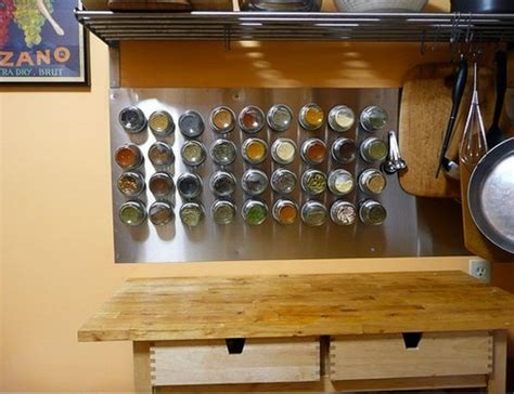 7 Spices To Keep In Your Rack by Mount A Magnetic Spice Rack To Keep Your Spices Accessible