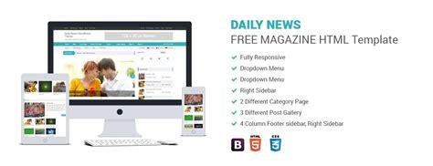 Daily News Magazine Html Template Codexcoder News Html Template
