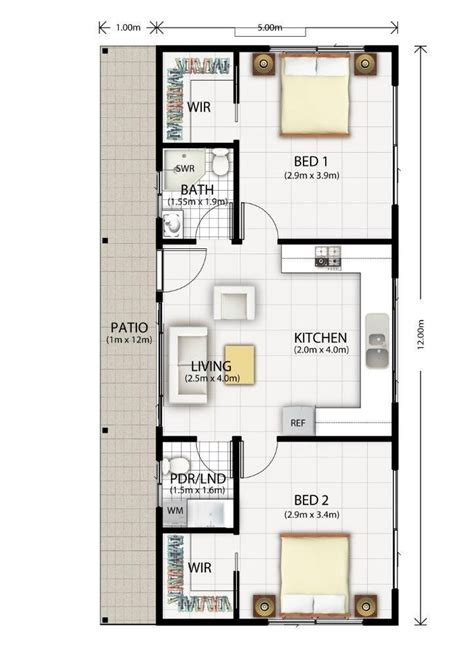 floor plan flat 517 best images about tiny house blueprints on