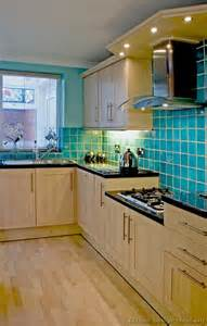 Kitchen Backsplash Turquoise Pictures Of Kitchens Modern Light Wood Kitchen