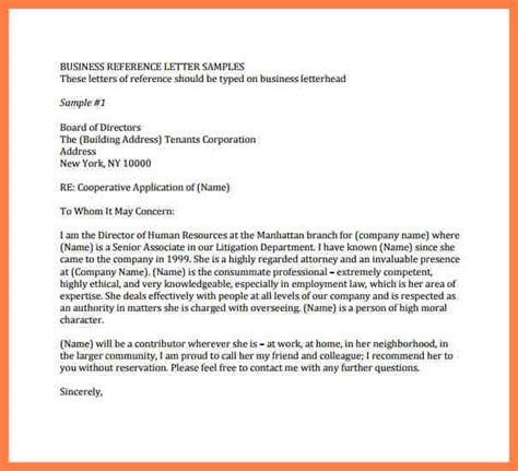 8 company letter of recommendation sample company