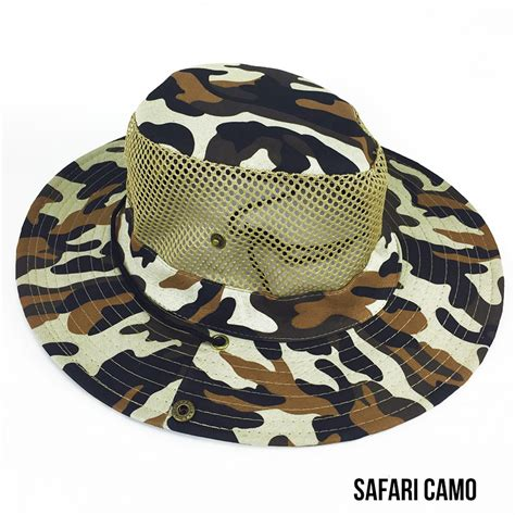 vented camo hat keep your cool and
