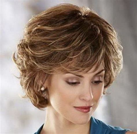 hair cut for a 53 old women short layered hairstyles for older women