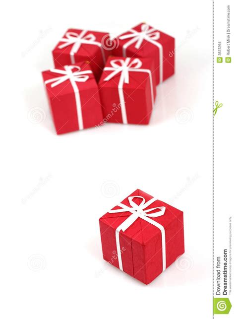 packages of christmas gifts stock images image 3537294