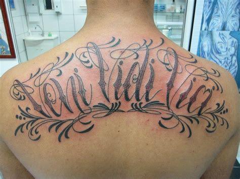 veni vidi vici tattoos 41 veni vidi vici designs with meaning white ink