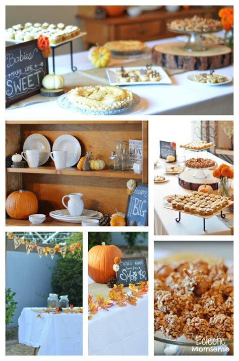 fall in with baby shower eclectic momsense