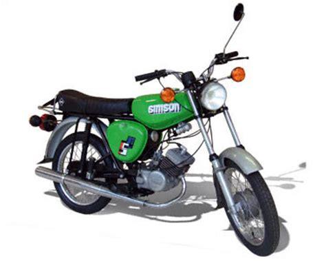 Motorrad Verkaufszahlen Ktm by Simson S51 Kleinkraftrad Akf Zweirad Datenbank