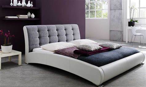 tufted queen size platform bed tufted queen size platform bed groupon goods