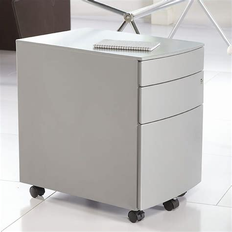 floyds office furniture eurostyle floyd ppf filing cabinet in silver 27985sil