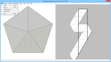 Origami Software Free - freeform origami