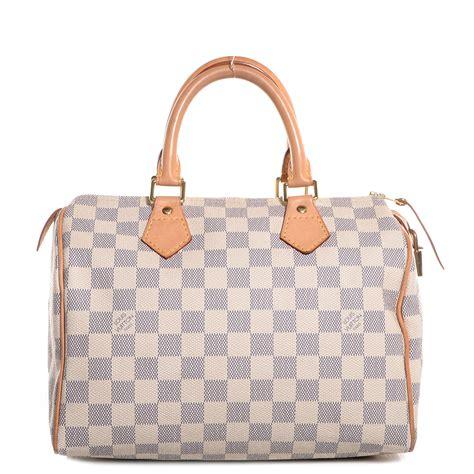 Louis Vuitton Speedy Bandou Damier Sz 25cm louis vuitton damier azur speedy 25 88635