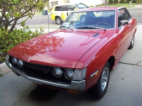 1973 Toyota Celica For Sale Buy Used 1973 Toyota Celica St In Huntington